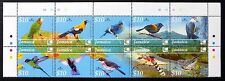 JAMAICA 2004 Birds Se-tenant Block of 10 SG1040a U/M NB1055