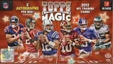 2012 Topps Magic Football Factory Sealed Hobby Box - 3 Autographs Per Box