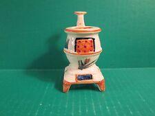 Vintage Pot Belly Stove Match Stick Holder -  Occupied Japan