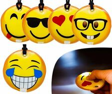 1x Smiley Icon Magnetic Torch Car Hanging fridge whiteboard cabinet decoration