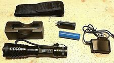 UltraFire LED Flashlights / Torch XM-L T6 with Battery and charger