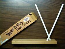 Vntg Taylor Cutlery Tennessee Cross Sticks knife sharpener circa 1982 New in box