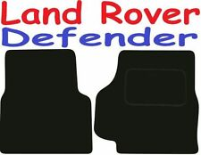 Land Rover Defender adaptado alfombrillas de coche de calidad de lujo 1990-2001