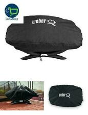 7110 BBQ Grill Cover With Storage Bag For Weber Q100 Q1000 Baby Q Gas Grills
