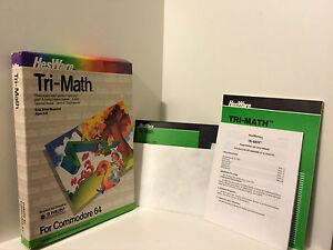 Tri-Math for Commodore 46 -  CIB/OVP