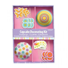 Wsl* Easter Cupcake Party Decorating Kit Pack of 48 New Brand Popular