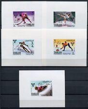Sharjah Khor Fakkan 1968 Olympiade Olympics Grenoble Wintersport 156-63 Blocks