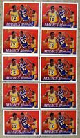 Magic Johnson 1991 Upper Deck #29 Los Angeles Lakers 10ct Card Lot