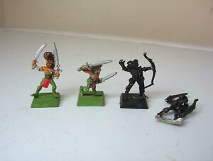 Warhammer Fantasy Wood Elf figures.