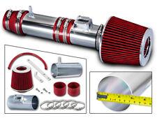 BCP RED 2009-2013 Honda Pilot Ridgeline Odyssey MDX V6 Air Intake Kit+ Filter