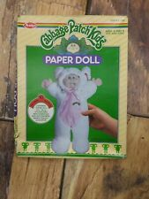 Cabbage Patch Kids Vintage Paper Doll 1985 New Old Stock New In Box