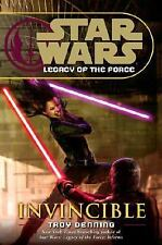 STAR WARS - INVINCIBLE - Legacy of the Force by Troy Denning