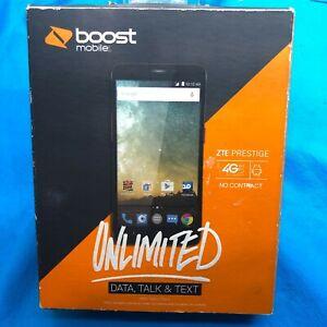 "Boost Prepaid ZTE Prestige Smartphone - Cell Phone Mobile - 5"" Screen New"