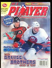 Be A Player NHL Hockey Magazine 1995 Playoff Issue w/Mint Cards jhscd2