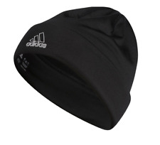 Adidas Beanie Mens Black Authentic Climawarm Sport ID Fold Warm Fleece Lined