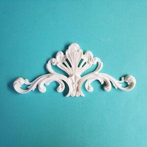 1x Shabby Chic  Wreath Furniture Applique Onlay Decorative Appliques