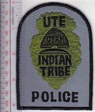 Tribal Indian Police Utah Ute Tribe Reservation Police Department Uintah grey