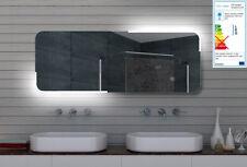 Design LED beleuchtet Lichtspiegel Badspiegel Badezimmerspiegel Wandspiegel ML16