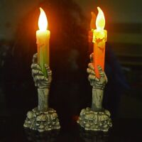 Halloween Ghost Hand Candle Lamp Ghost Claw Decoration LED Electronic Glow