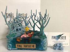 FINAL FANTASY VII Cloud & Aerith Forgotten City Diorama Figure Cold Cast Japan