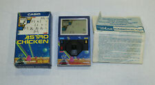 Casio cg-130 astro Chicken electronic game japón 1983 con caja manual + Top rar
