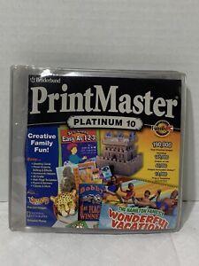 Printmaster Platinum 10 for Windows Broderbund