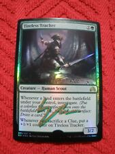 MTG Magic Signed Back & Front Artist Proof Foil Tireless Tracker Shadows LP-NM
