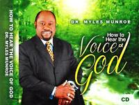How To Hear The Voice Of God - Mp3 Cd - Myles Munroe