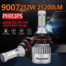 2X 252W 25200LM 9007 HB5 LED Headlight Bulbs Hi/L Beam 6500K White Light