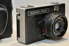 ANTIGUA CAMARA NOMO SOVIETICA VILIA, 35mm URSS AÑO 1970s. (funciona)*