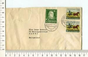 20232) Germany 20.11.1952 Cover To Basel - Luther + Thurn
