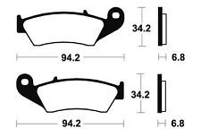 Plaquettes de frein Bendix MF194 Métal fritté pour HONDA