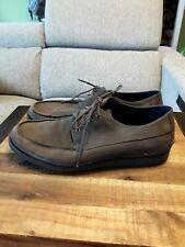 Cole Haan C11752 Mason 4 Eye OX Men's sz 10.5M Suede Grey Shoes GUC 😊FAST SHIP