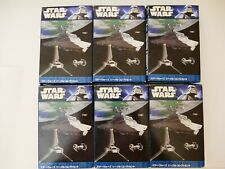 Star Wars F-toys Vehicle Collection 4 - FULL SET of 6 with Secret BNIB Japan