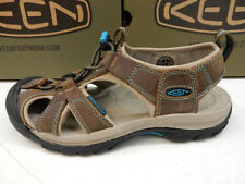 Women's KEEN Venice 8 M 1003993 Dark Earth/caribbean Sea