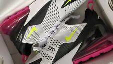 Nike Air Max 270 Trainers Size 10 Black White Fuchsia Brand New Boxed  FREEPOST