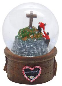 Souvenir Schneekugel Hüttengruß Gipfelstürmer
