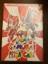 DVD Samurai Pizza Cats Complete English DVD 52 Episodes Discotek Media Official