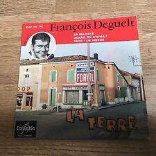 EP François Deguelt La terre Sa majesté Quand on s'aimait 1961 VG+