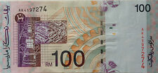 RM100 Ali Abul Hassan side sign Last Prefix Note AK 4597274