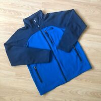 The North Face Softshell Fleece Jacket Blue - Size Boys / Youth Extra Large