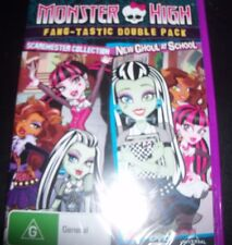 Monsters High Scaremester Collection / New Ghoul At School (Aust Reg 4) DVD NEW