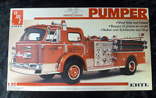 AMT ERTL Fire Pumper Truck 1/25 Model Kit