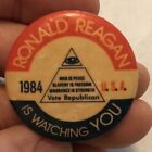 1984 RONALD REAGAN MASONIC POLITICAL PIN