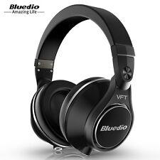 Bluedio UFO PLUS Auriculares Bluetooth de Diadema Estéreo con 12 Altavoces Negro