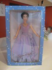 Elizabeth  Taylor Barbie   'Purple Gown'  'White Diamonds'