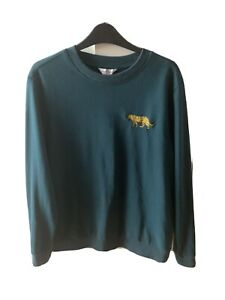 Neon Sheep Jumper - Teal Green- Leopard - Small (size 10)