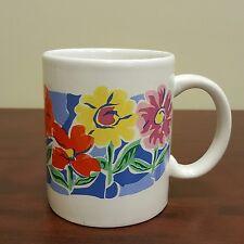 Bright Colorful Blooming Spring Flowers Coffee Mug