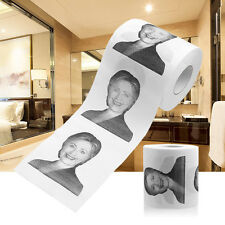 Hillary Clinton Smile Toilet Paper Roll Presidential Novelty Funny Gag Gift