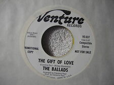 Ballads Gift of Love m- promo 7 The Gift of Love / same